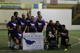 The Jackson Project Memorial Day Soccer Tournament 2014 - Raising Fund to support Krabbe Disease Patients and their families