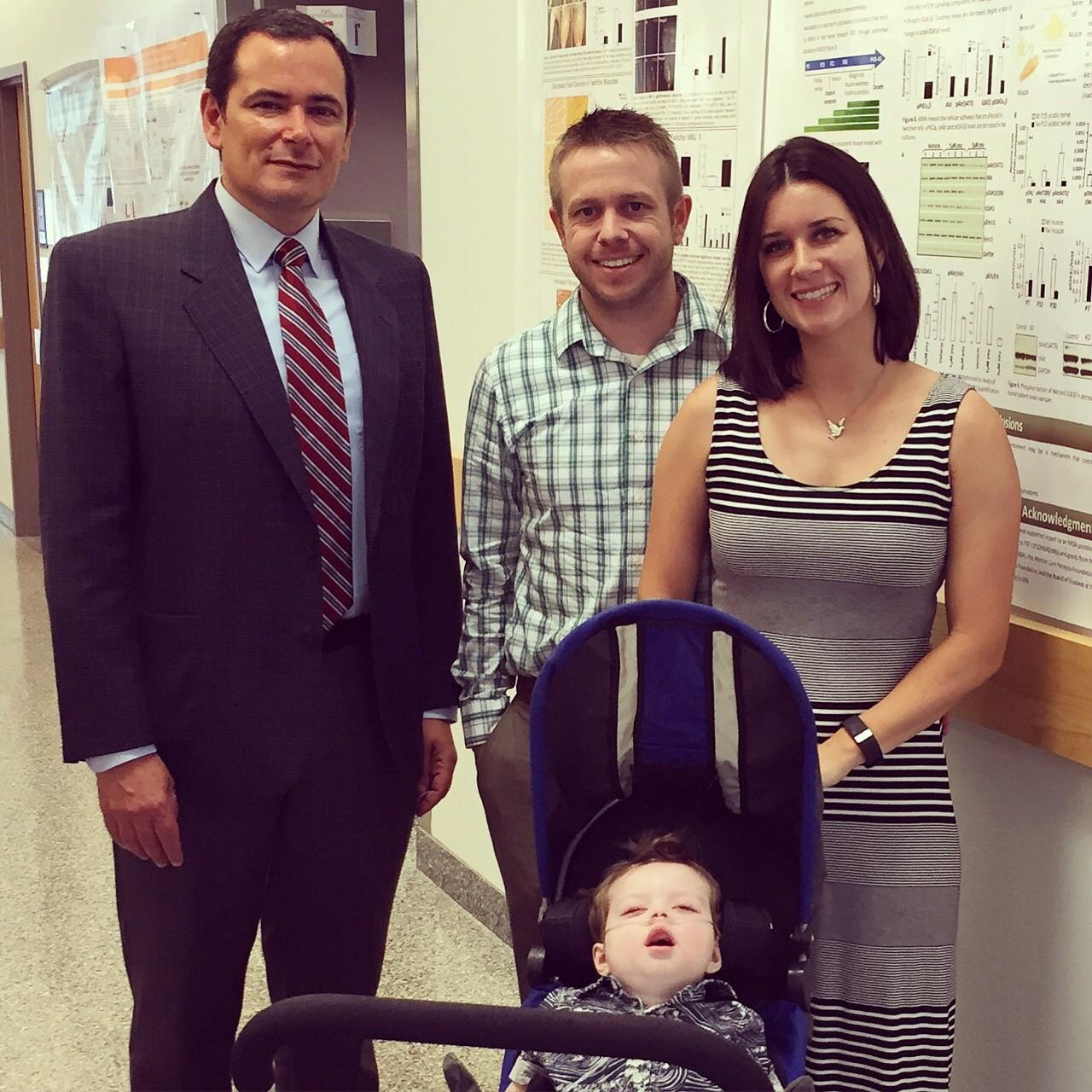 Jackson visits Dr. Bongarzone!